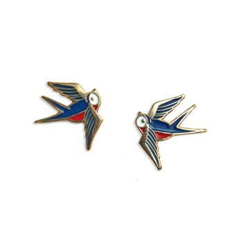 Sparrows Lapel Pin