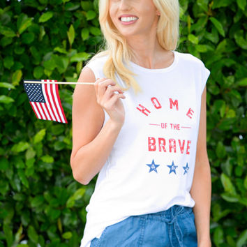 Home of The Brave Graphic Tee