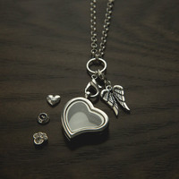 Furever™ Memorial Locket Set: Gives 10 Meals To Shelter Dogs In Honor of Your Dog