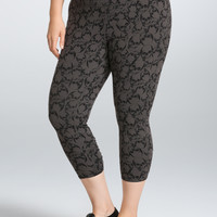 Torrid Active - Skull Crop Leggings