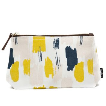 Rhythm Canvas Pouch