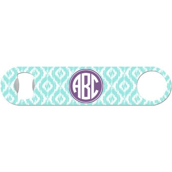 Natalie - Ikat Monogram Bottle Opener