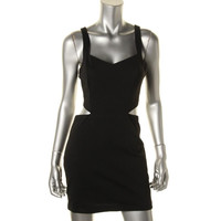 BCBGeneration Womens Cut-Out Above Knee, Mini Clubwear Dress