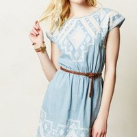 Denali Chambray Dress by Greylin Blue