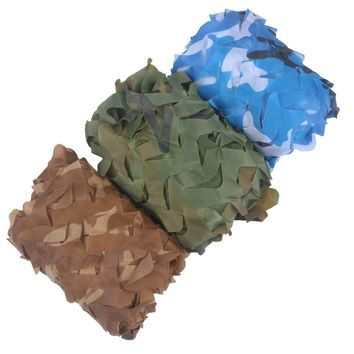 VILEAD Simple 1.5m*2.5m Woodland Digital Blue Green Desert Camouflage Nets Camo Netting without Edge Sun Shelter Car Cover