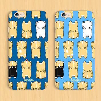 Welsh Corgi Sploot iPhone Case