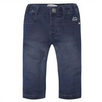 Jean Bourget - Girl Light Stretch Jeans, Marine - 4Y