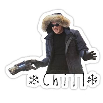 'Chill' Sticker by PoppiPan