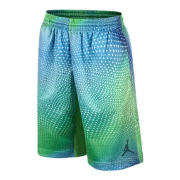 Jordan Flight Pattern Printed Boys' Basketball Shorts, by Nike