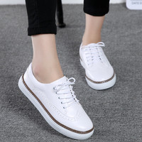 Fashion Bullock Casual Shoe Women 2017 New High Quality Superstar Small White Shoes Simple Common Projects Tenis Feminino