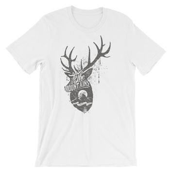 To the Mountains Short-Sleeve Unisex T-Shirt