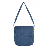 Blue Denim Cross Bag