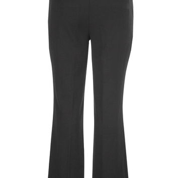 the polished plus size trouser with slimming technology in black