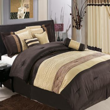 Sonata Coffee 11-Piece Bed in a Bag
