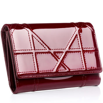 Ladies Leather Silver Wallet [9338144647]