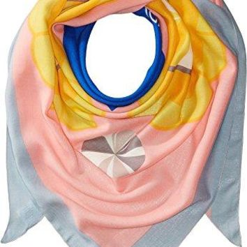 Fendi Kids Womens Jewel Eyes Scarf