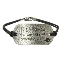 Disney Finding Nemo Sherman Address Cord Bracelet