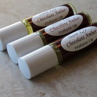Chocolate Amber Perfume Oil on Luulla