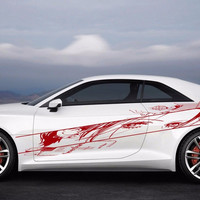 Anime Car Decal Anime Car Vinyl Graphics Sticker Beauty saloon Anime 10320-2