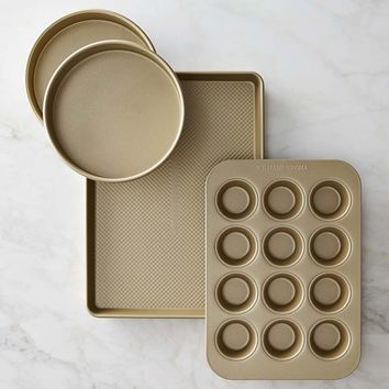 Williams Sonoma Goldtouch® Nonstick 4-Piece Bakeware Set