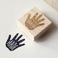 Rubber Stamp - Handmade