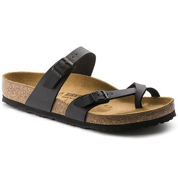 Birkenstock Mayari Birko Flor Black 0071791/0071793 Sandals - Best Deal Online