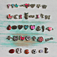 Floating Locket Charms, Charms for Living Locket, Personalized Locket, Memory Locket Charms