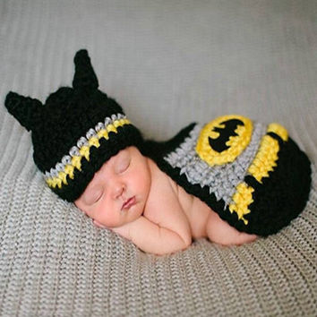 Newborn Photography Prop -  Batman