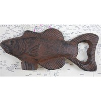 Amazon.com: Cast Iron Fish Bottle Opener: Kitchen & Dining