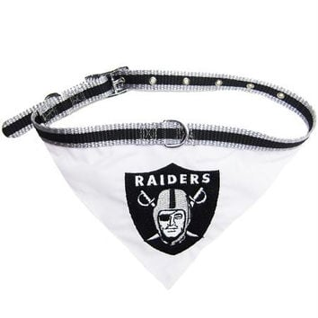 Oakland Raiders Bandana Small