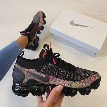 "Nike W Air Vapormax Flyknit 2 ""Multi"" Sneaker Casual Running Sport Shoes Sneakers"