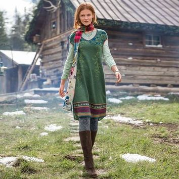 Norwegian Woods Sweater Dress