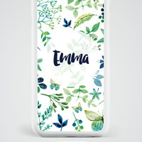 Personalized iPhone 6S Case, Monogram iPhone 6 Case, Monogram iPhone Case, Personalized iPhone 6 Plus Case, iPhone SE Case, Daughter Gift