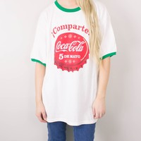 Vintage Spanish Coca Cola Soda T Shirt
