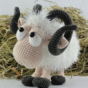 Rambert the Ram - Amigurumi Crochet Pattern