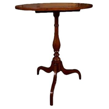 Pre-owned Federal Style Tilt Top Table