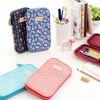 Ardium Pattern zip around pencil case pouch