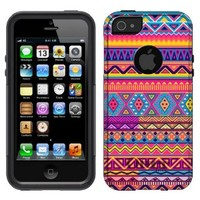 Otterbox Commuter Aztec Colourful Pattern Case for iPhone 5
