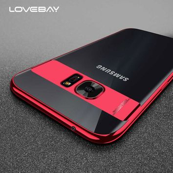 Lovebay Glossy Clear Case For Samsung Galaxy Note 8 Transparent Phone Case Soft