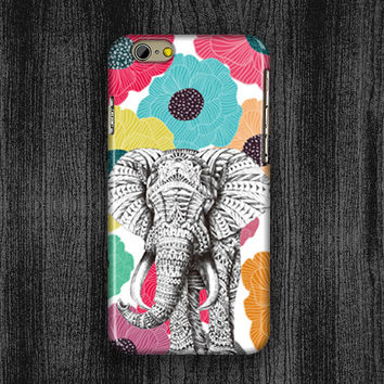 iphone 6 plus cover,art design iphone 6 case,personalized iphone 4s case,fashion iphone 5c case,elephant flower iphone 5 case,vivid design iphone 4 case,idea iphone 5s case,gift Sony xperia Z2 case,sony Z1 case,art elephant flower sony Z case,samsung Not