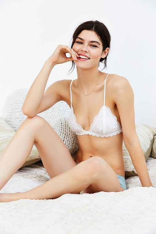 fc4ee4fa6ed Heidi Lace Triangle Bra from Urban Outfitters