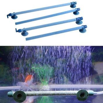 "High Quality Fish Tank Aquarium Air Stone Wall Bubble Tube Aeration Tube Pet Products Decorations Ornaments 7""10""14""18""23""28"""