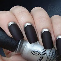 lacquerized. - a blog about nail polish: Ruffian Inspired Manicure & The most awesome gift