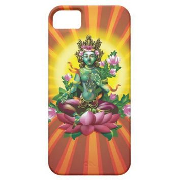 Ārya Tārā Green Buddha iPhone 5 Case from Zazzle.com