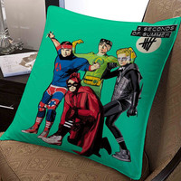 """5 seconds of summer superhero pillow ---- pillow one and two side by  """"galaxyplatinum"""","""