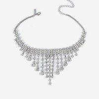 **Cupchain Drop Choker Necklace | Topshop