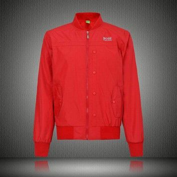 DCCKJN6 Men Red Jackets