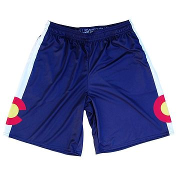 Colorado Flag Lacrosse Shorts