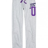 Brand Dot Fleece Cuff Sweatpants | Girls Sweatpants Clothes | Shop Justice