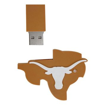 Texas Longhorns 8GB USB Flash Drive C1F41Q (Orange)